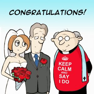 TW402 – Funny Congratulations Wedding Card